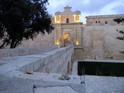 soku_26327.jpg :: 風景 街並み 都市の風景 外国 マルタ島、イムディーナ