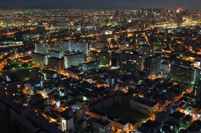 soku_26396.jpg :: 風景 街並み 夜景
