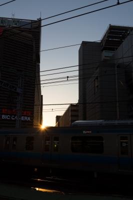 soku_26446.jpg :: 乗り物 交通 鉄道 電車 風景 街並み 都市の風景