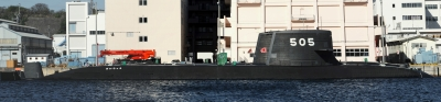 soku_26464.jpg :: 海上自衛隊 横須賀基地 潜水艦 SS.505 ずいりゅう Zuiryu パノラマ
