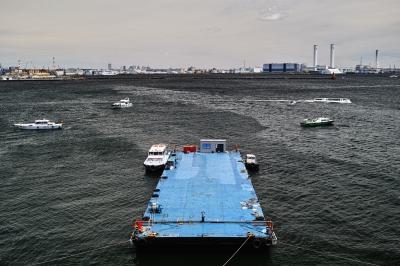 soku_26603.jpg :: 風景 自然 海 浮平船