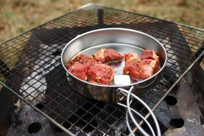 soku_26710.jpg :: 火 炎 炭火 バーベキュー 肉