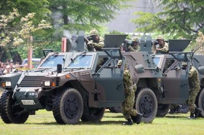 soku_26734.jpg :: 陸上自衛隊 軽機動装甲車 戦闘