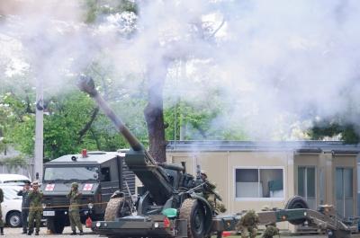 soku_26735.jpg :: 陸上自衛隊 M44A1 155mm自走榴弾砲