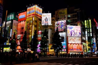 soku_26760.jpg :: 風景 街並み 都市の風景 夜景 秋葉原