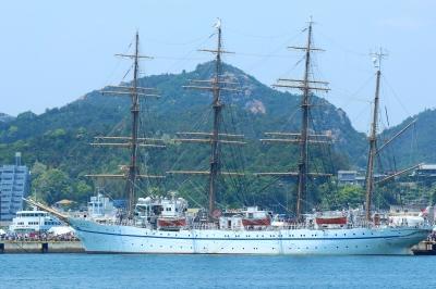soku_26772.jpg :: 乗り物 交通 船 ヨット 帆船日本丸