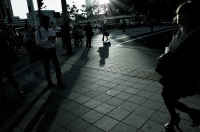 soku_26925.jpg :: 風景 街並み 都市の風景 交差点