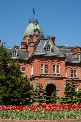 soku_27076.jpg ::  建築 建造物 歴史的建造物 赤レンガ 北海道庁