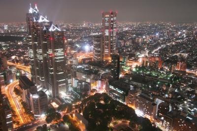 soku_27198.jpg :: 風景 街並み 都市の風景 夜景