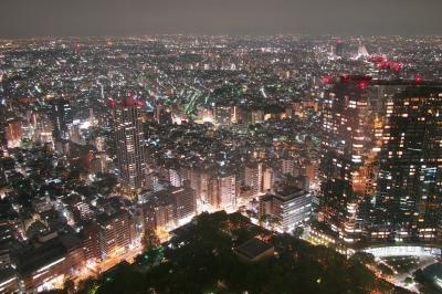 soku_27199.jpg :: 風景 街並み 都市の風景 夜景
