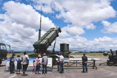 soku_27204.jpg :: 自衛隊 基地 一般公開 地対空誘導弾 ペトリオット PAC.3 BMD