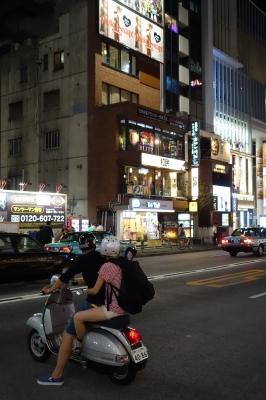 soku_27540.jpg :: 風景 街並み 都市の風景 バイク乗り 原宿