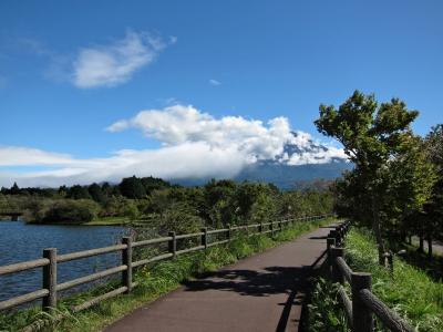 soku_27562.jpg ::  PowerShotS95 風景 自然 水分 コンデジ埼玉 lock 富士山 湖 本栖湖