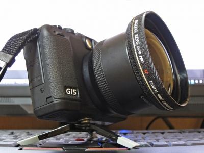 soku_27563.jpg :: PowerShotG15 コンデジ埼玉 lock S95 ワイコン x0.7 トダ精光 DSW PRO Digital King ゴリラポッドマイクロ800 ThinkPad