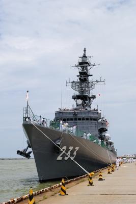 soku_27692.jpg :: 護衛艦 DE.233 ちくま Chikuma