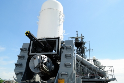 soku_27694.jpg :: 護衛艦 DE.233 ちくま Chikuma 高性能20mm機関砲 CIWS