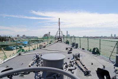 soku_27722.jpg :: 護衛艦 DE.233 ちくま Chikuma 艦首