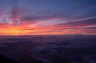 soku_27854.jpg :: 風景 自然 空 朝日 朝焼け 日の出