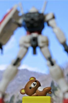 soku_27877.jpg :: PowerShotG15 コンデジ埼玉 lock アート 工芸品 クラフト 人形 フィギュア ガンダム リラックマ