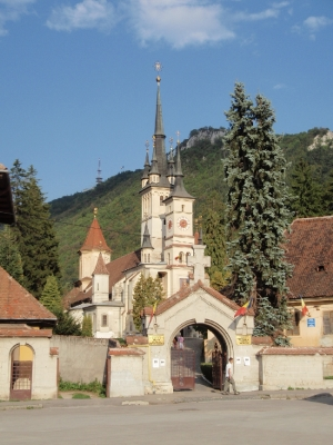 soku_28257.jpg :: 風景 街並み 郊外の風景 外国 教会