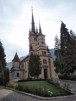 soku_28263.jpg :: 風景 街並み 郊外の風景 外国 教会