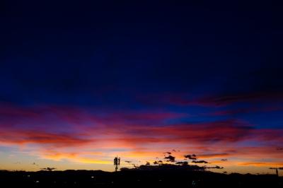 soku_28523.jpg :: 風景 自然 空 日没 マジックアワー 残照