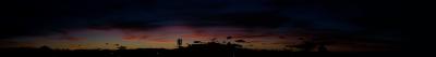 soku_28544.jpg :: 風景 自然 空 夕焼け 雲 パノラマ (^.^)