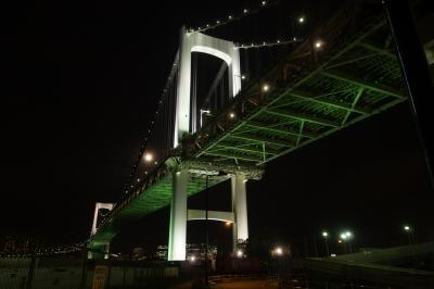 soku_28646.jpg :: 建築 建造物 橋 風景 街並み ランドマーク レインボーブリッジ