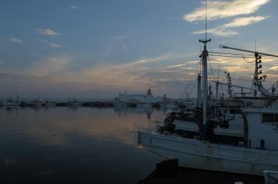 soku_28759.jpg :: 大洗港 漁船 フェリーさんふらわあ