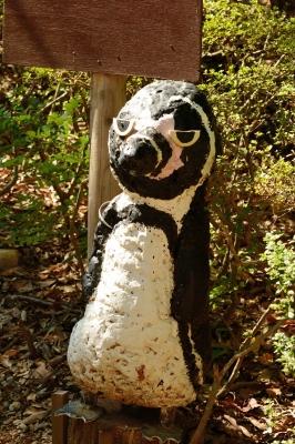 soku_28781.jpg :: 芸術 アート 彫刻 彫像 石像 ペンギン