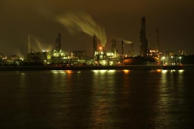 soku_28895.jpg :: 建築 建造物 工場 産業機械 夜景
