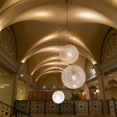soku_28978.jpg :: 建築 建造物 施設 ホテル 光 アート オブジェ