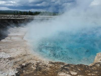 soku_29042.jpg :: 風景 自然 山 火山 火山湖