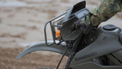 soku_29053.jpg :: 陸上自衛隊 乗り物 交通 自動車 オートバイ バイク