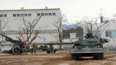 soku_29056.jpg :: 陸上自衛隊 訓練展示 74式戦車