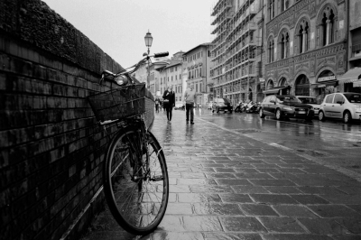 soku_29086.jpg :: 風景 街並み 都市の風景 外国 自転車