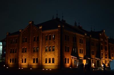 soku_29177.jpg :: 建築 建造物 歴史的建築物 赤レンガ倉庫のライトアップ