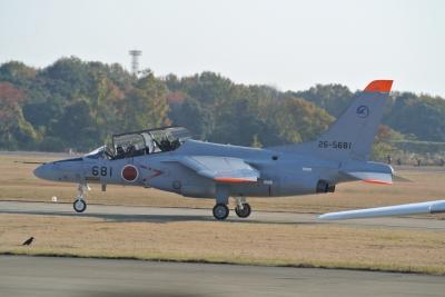 soku_29264.jpg :: 乗り物 交通 航空機 飛行機 軍用機 練習機 T-4(中等練習機)