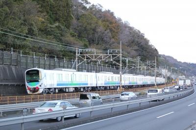 soku_29346.jpg :: 乗り物 交通 鉄道 貨物列車 電車 道路 静岡県