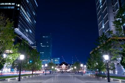soku_29606.jpg :: 風景 街並み 都市の風景 ビル 建築 建造物 夜景