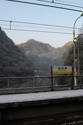 soku_29778.jpg :: 乗り物 交通 鉄道 電車 JR 福知山線 武田尾駅