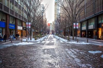 soku_29810.jpg :: 丸の内 雪