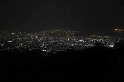 soku_30007.jpg :: 風景 街並み 都市の風景 夜景 上空