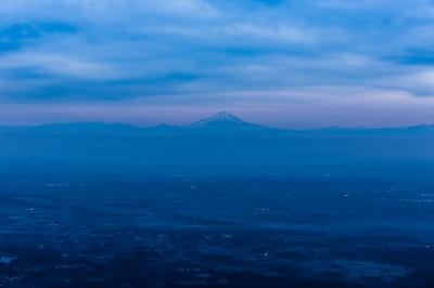 soku_30065.jpg :: 風景 自然 山 富士山 夕焼け