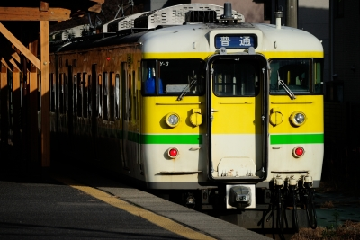 soku_30183.jpg :: 乗り物 交通 鉄道 電車 弥彦駅