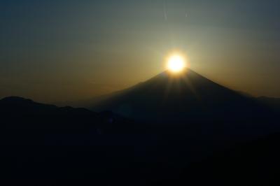 soku_30249.jpg :: 風景 自然 山 富士山 ダイヤモンド富士