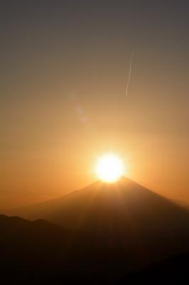 soku_30280.jpg :: 風景 自然 山 富士山 ダイヤモンド富士