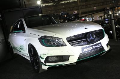 soku_30313.jpg :: メルセデスベンツ A45AMG 乗り物 交通 自動車 スポーツカー