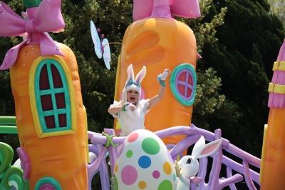 soku_30451.jpg :: 遊園地 テーマパーク ディズニーランド パレード イースター