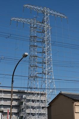 soku_30489.jpg :: 建築 建造物 塔 鉄塔 電線